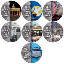 Coffret Mur de Berlin - 30 ans de la Chute du Mur de Berlin