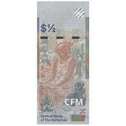 Billet ½ Dollar Bahamas 2019