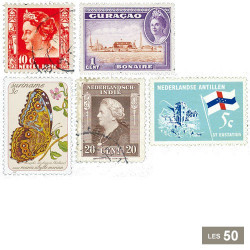 50 timbres Pays-Bas