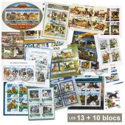 13 Blocs chiens + 10 Blocs OFFERTS
