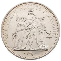 10 Francs Argent Hercule 1969