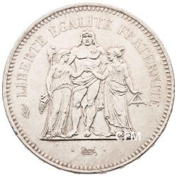 50 Francs Argent Hercule 1976