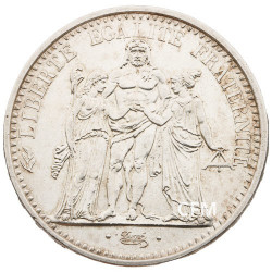 10 Francs Argent Hercule 1965