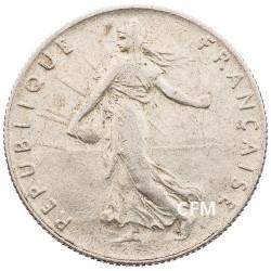 1914 - 50 CENTIMES ARGENT - TYPE SEMEUSE 3e REPUBLIQUE