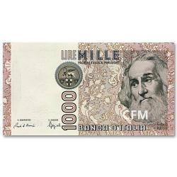 Billet 1000 Lires Italie 1982 - République parlementaire