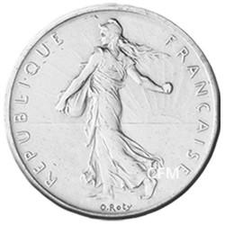 5 Francs Argent Semeuse 1965
