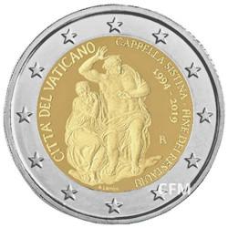 2 Euro Vatican BU 2019 – Chapelle Sixtine