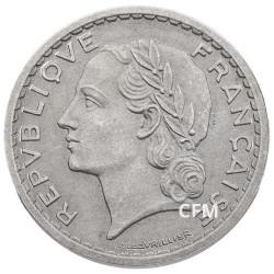 1946 - 5 FRANCS ALUMINIUM TYPE  LAVRILLIER