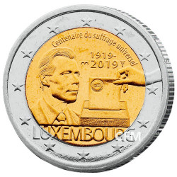 2 Euro Luxembourg BU 2019 - 100 ans du suffrage universel