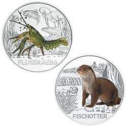 Lot des 2 x 3 Euro Autriche 2019