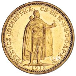 20 Couronnes Or Hongrie - François Joseph Ier