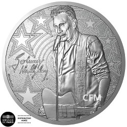 Médaille Guitare Johnny Hallyday 2019
