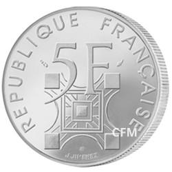 5 Francs Tour Eiffel 1989 - 100 ans de sa construction