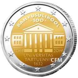 2 Euro Estonie 2019 - Université de Tartu
