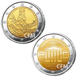 Lot des 2 x 2 Euro Estonie 2019
