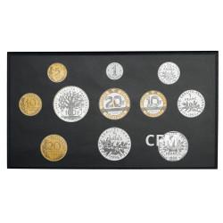 Coffrets BE Francs 1996