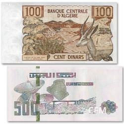Lot des 2 billets Algérie