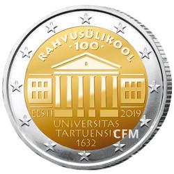 2 Euro Estonie BU 2019 - Université de Tartu