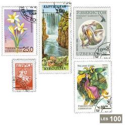 100 timbres États russes