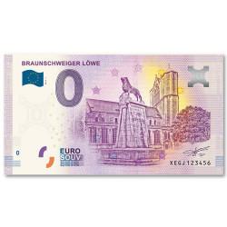 Billet Souvenir 0 Euro 2019  - Lion de Brunswick