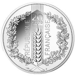 20 Euro Argent France 2020 - Chêne