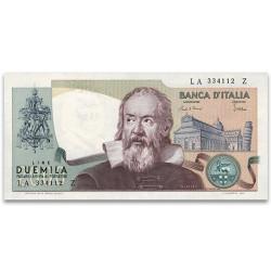 Billet 2 000 Lires Italie 1983 - Galilée