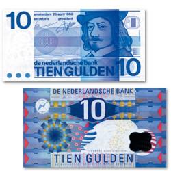 Lot des  2 billets Pays-Bas