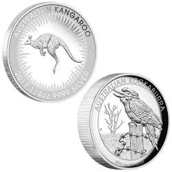 Lot des 2 monnaies Argent Australie