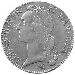 Écu d'Argent Louis XV au Bandeau