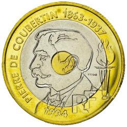 20 Francs Essai 1994 - Pierre de Coubertin