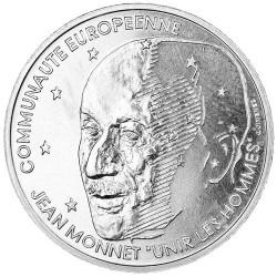 100 Francs Argent Essai 1992 - Jean Monnet