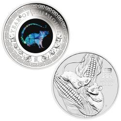 Lot des 2 monnaies Argent Australie BE 2020