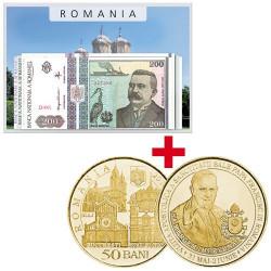 Lot des monnaies Roumanie