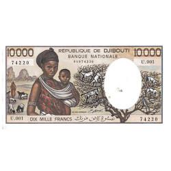 10 000 Francs Djibouti 1984