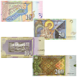 4 Billets Macédoine 2007-2016