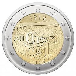 2 Euro Irlande 2019 - 100 ans de la première assemblée du Dáil Éireann
