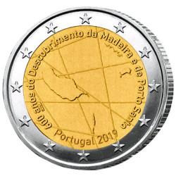 2 Euro Portugal 2019 - 600 ans de la découverte de Madère