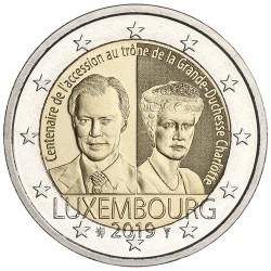 2 Euro Luxembourg 2019 - 100 ans de l'accession au trône de la Grande-Duchesse Charlotte