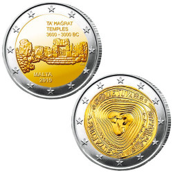 Lot des 2 x 2 Euro Malte et Lituanie 2019