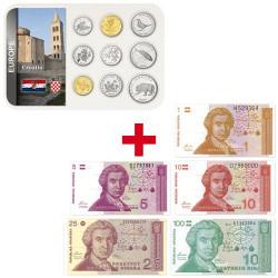 Lot des monnaies Croatie