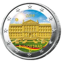 2 Euro Allemagne 2019 colorisée - 70 ans du Bundesrat allemand