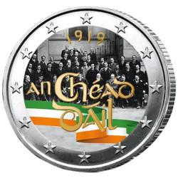2 Euro Irlande 2019 colorisée - Dáil Éireann
