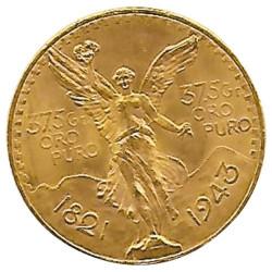 50 Pesos Or 1943