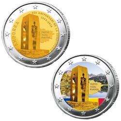Lot des 2 x 2 Euro Andorre 2018