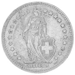1 Franc Argent Suisse