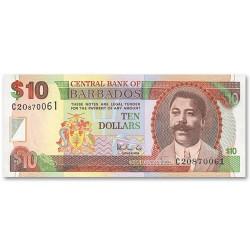 Billet 10 Dollars Barbades