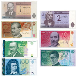 7 Billets Estonie