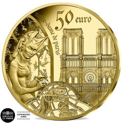 50 Euro Or France BE 2020 - l'époque Gothique
