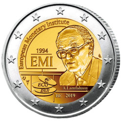 2 Euro Belgique BU 2019 - 25 ans de l'Institut monétaire européen