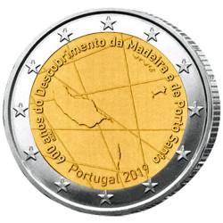 2 Euro Portugal BU 2019 - 600 ans de la découverte  de Madère